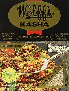 Wolff's Kasha Medium, 13 oz (Pack of 6)