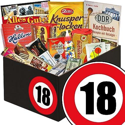 Süße Geschenkbox Zum 18 Geburtstag Ddr Süßigkeiten Geschenk