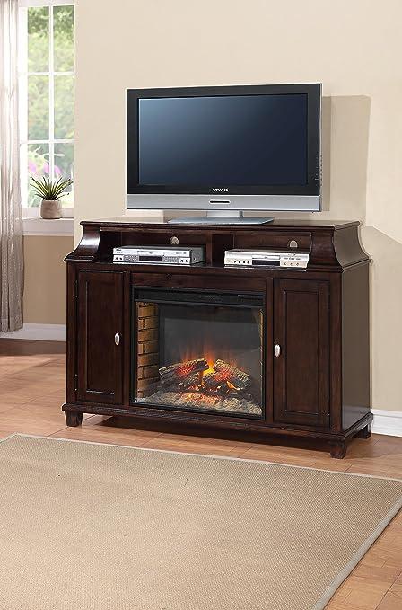 Amazon Com Legends Furniture Zman 1900 Manchester Fireplace Media