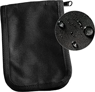 "product image for Rite in the Rain Weatherproof CORDURA Fabric Notebook Cover, 4"" x 6"", Black Cover (No. C946B), 7.25 x 5.25 x 0.625"