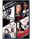 4 Film Favorites: Lethal Weapon (Lethal Weapon: Director's Cut, Lethal Weapon 2: Director's Cut, Lethal Weapon 3…