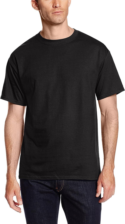 Hanes Mens 2 Pack Short-Sleeve Pocket Beefy-T