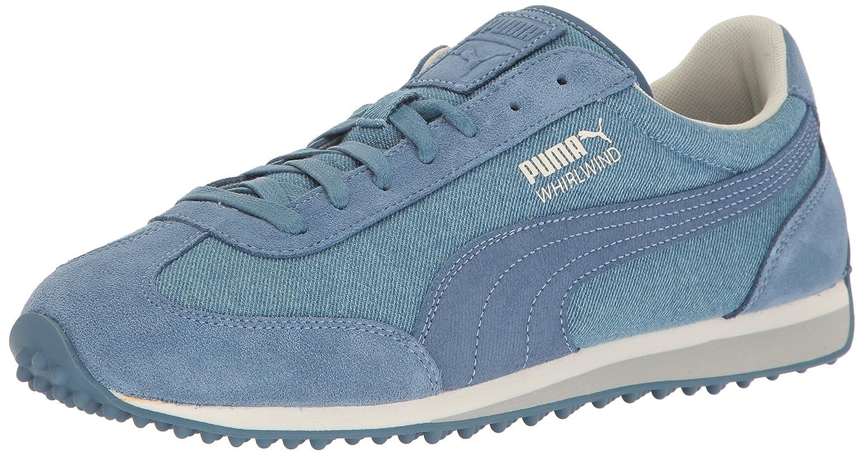 PUMA Whirlwind Denim Fashion Sneaker B01LZB811P 4.5 M US|Blue Fog-whisper White