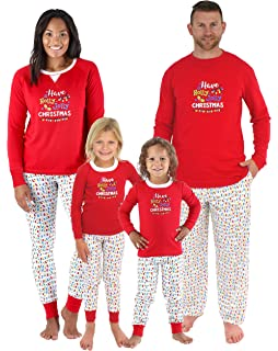 22bba0410c Sleepyheads Family Matching Holly Jolly Christmas Lights Pajama PJ Sets