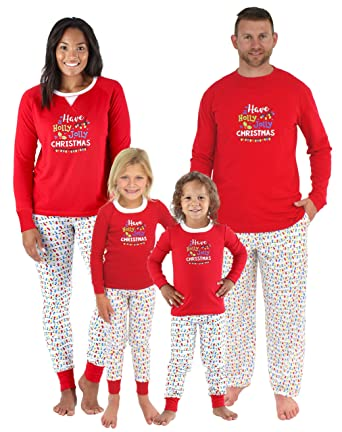 4d8bf229a7 Sleepyheads Family Matching Holly Jolly Christmas Lights Pajama PJ Sets -  Mens (SHM-5010