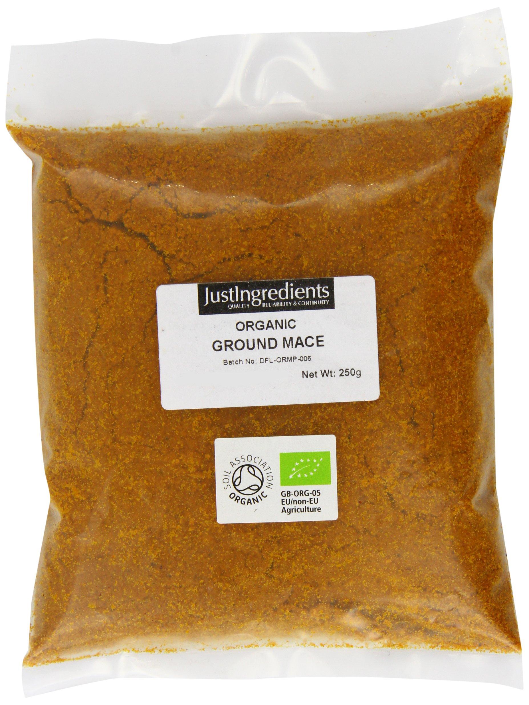 JustIngredients Organic Ground Mace Loose 250 g