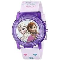 Kids' FZN6000SR Digital Display Analog Quartz Pink Watch