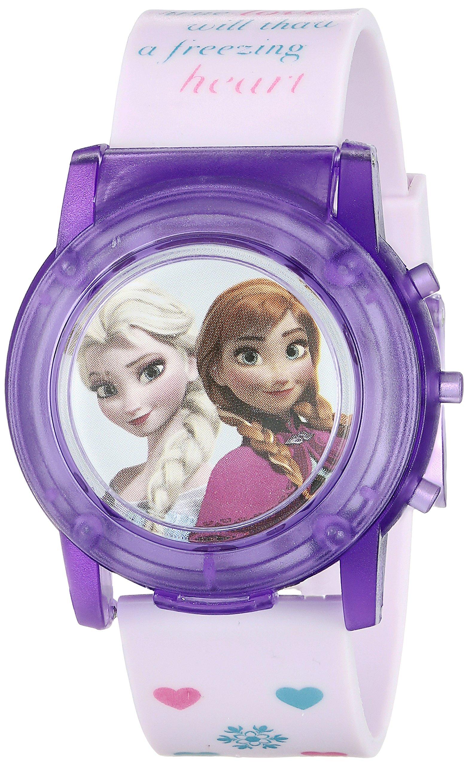 Disney Kids' FZN6000SR Digital Display Analog Quartz Pink Watch