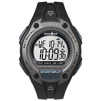 efad38714a4d Timex Men s TW5M13900 Ironman Classic 30 Oversized Black Resin Strap Watch