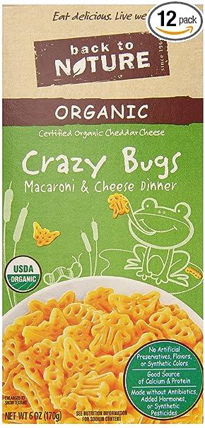 Amazon.com : Back to Nature Organic Macaroni and Cheese Dinner ...