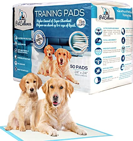 100 Pack Dog Pee Training Pads Absorb Extra Pet Puppy Pad No Leak Heavy Duty NEW