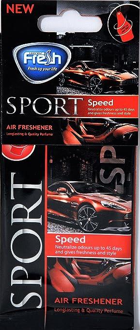 Fresh Way Dsp06 Dry Sport Air Freshener Speed 6 Pack Amazon Co