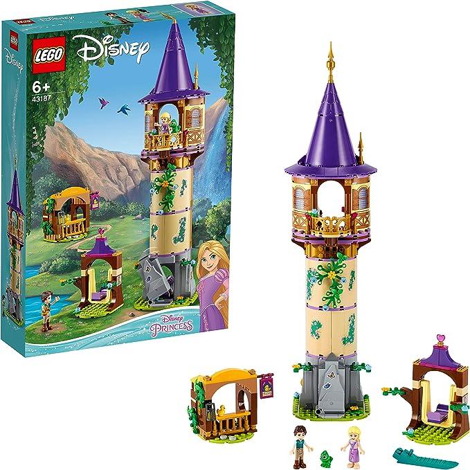 LEGO 43187 Disney La tour de Raiponce - Ensemble d...
