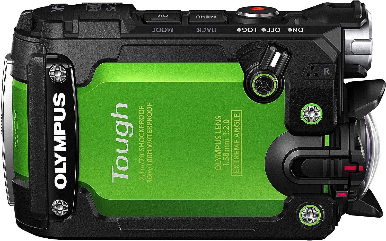 Olympus TG-Tracker - Cámara de acción de 7.2 MP (Pantalla abatible ...