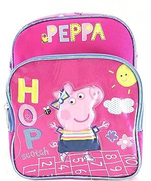 Peppa Pig 10 - Mochila escolar, color rosa
