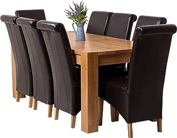 Hermosa Kensington Table Salle A Manger Avec 8 Chaises Montana Avec