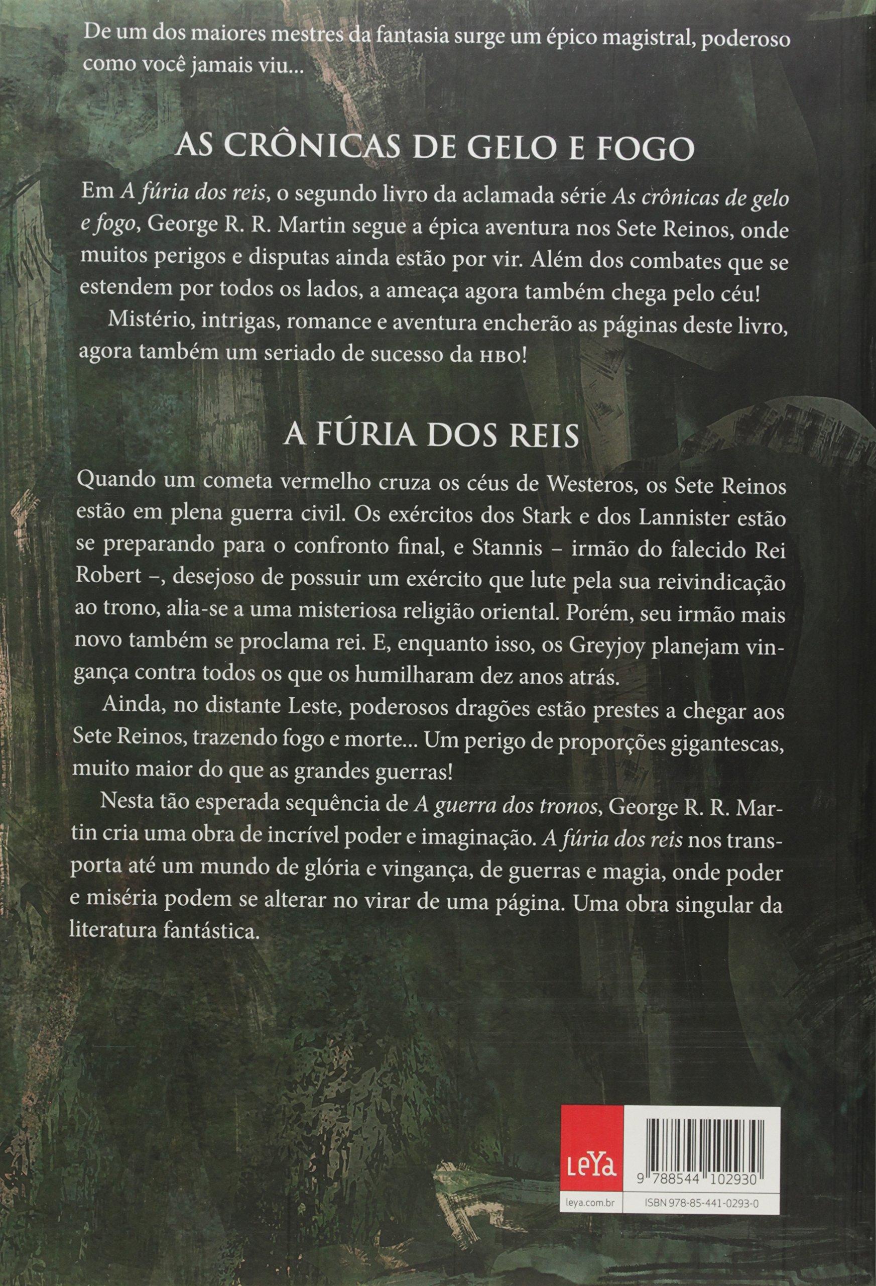 A fria dos reis as crnicas de gelo e fogo livro 2 em as crnicas de gelo e fogo livro 2 em portuguese do brasil george r r martin 9788544102930 amazon books fandeluxe Choice Image
