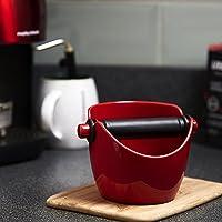 Avanti Knock Box Compact Knock Box, Red, 15101