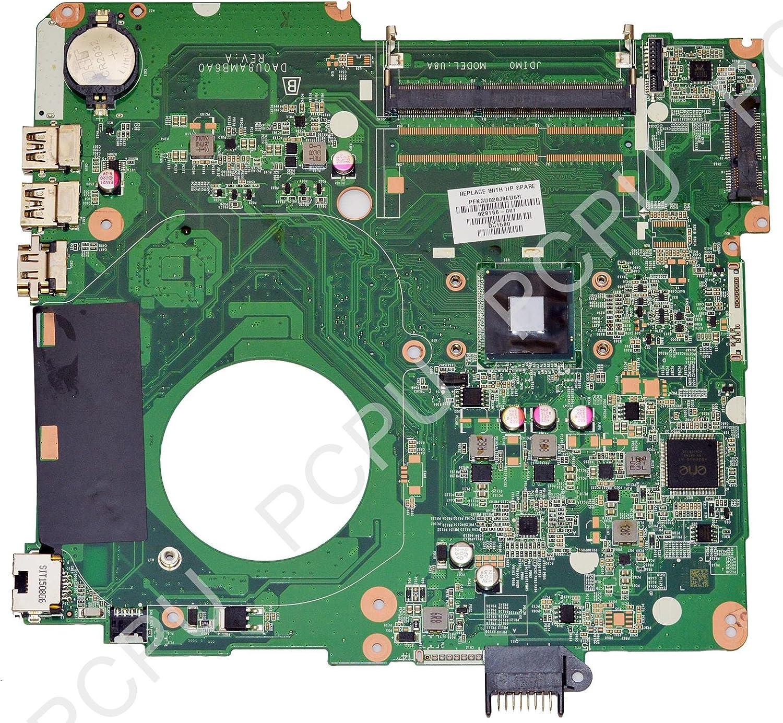 828166-001 HP 15-F Laptop Motherboard w/Intel Pentium N3540 2.16Ghz CPU