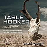 Skull Hooker Table Hooker Realtree Edition European Trophy Mount - Perfect Kit for Table Display of Taxidermy Deer Antlers and Other Skulls - Graphite Black