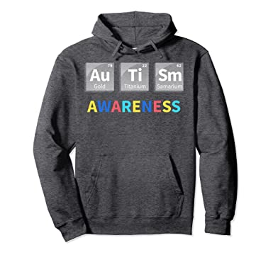 Amazon periodic table science hoodie autistic autism sympathy unisex periodic table science hoodie autistic autism sympathy gift 2xl dark heather urtaz Gallery