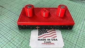 SET OF 4 Red Tesla Model X Jack Pad Adapter Lift Pad Murphy/'s Law Jack Pads