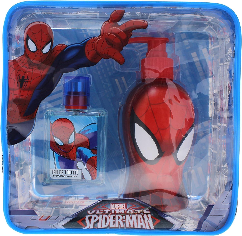 Spiderman Set Eau de Toilette 50 ml, Gel 250 ml - 1 pack: Amazon ...