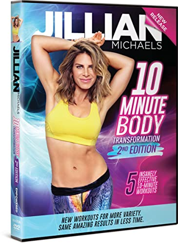 Jillian Michaels 10-Minute Body Transformation Second Edition