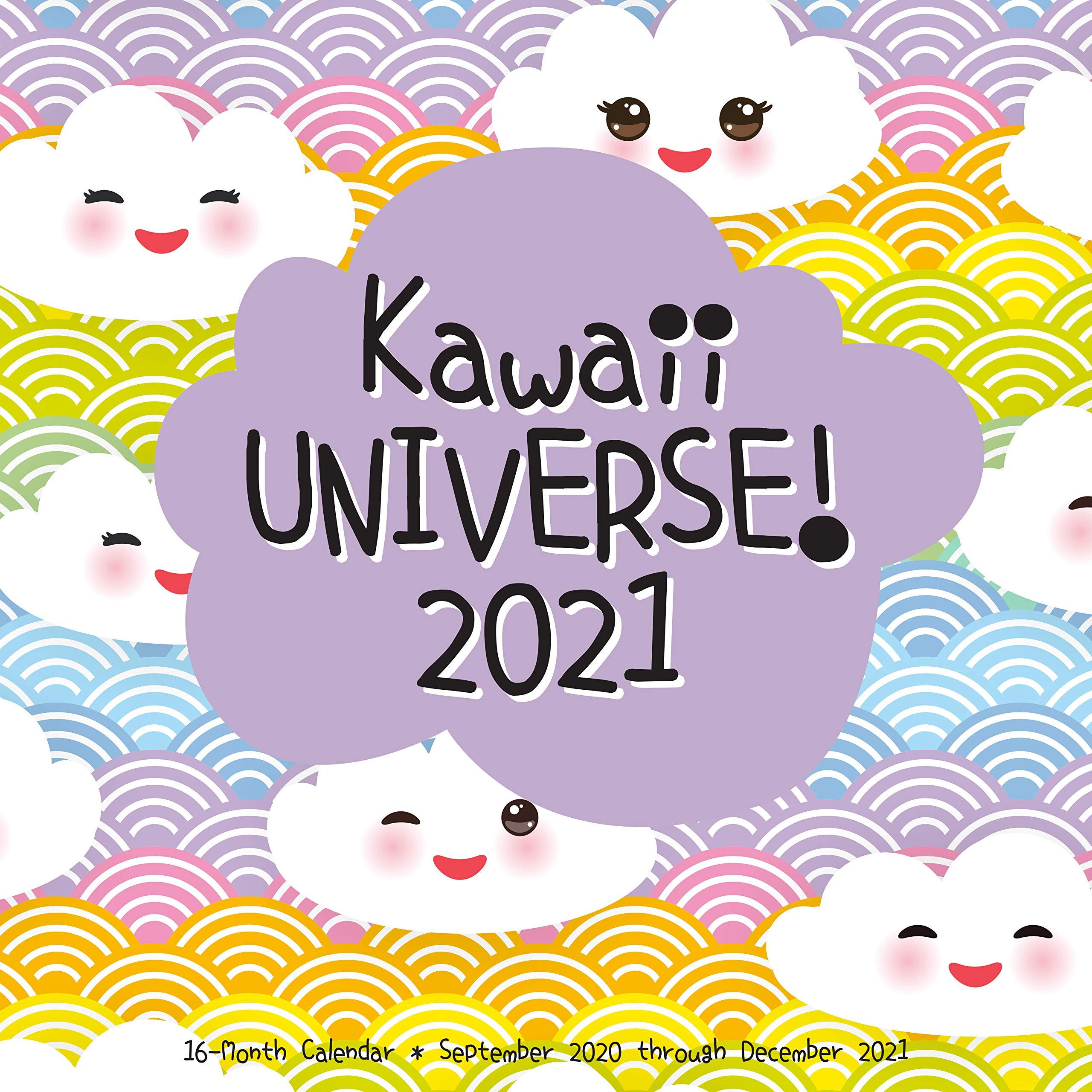 September - December 2021 Calendar Kawaii Universe 2021: 16 Month Calendar   September 2020 through