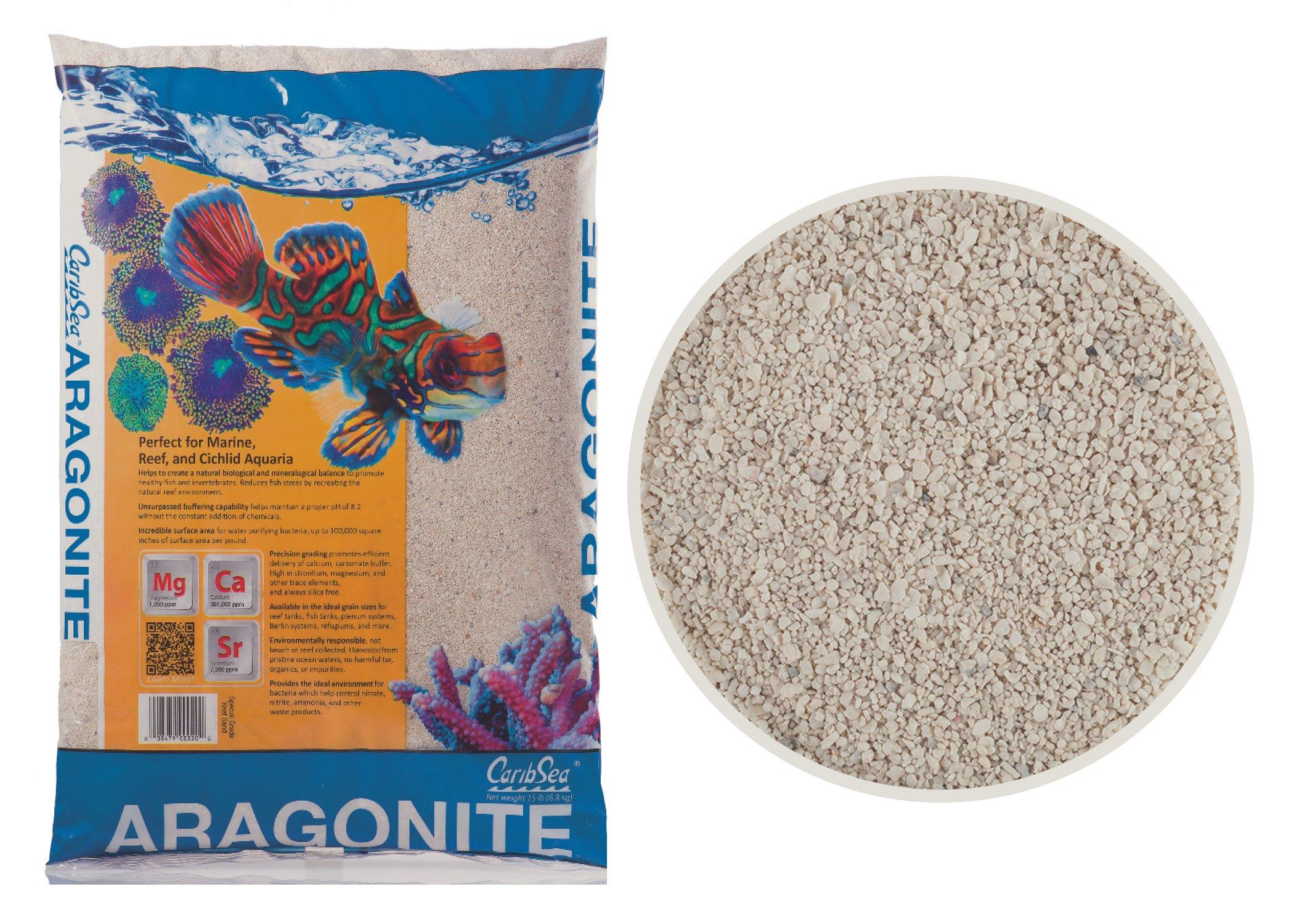 Carib Sea ACS00932 Aragamax Select Sand for Aquarium, 30-Pound by Carib Sea