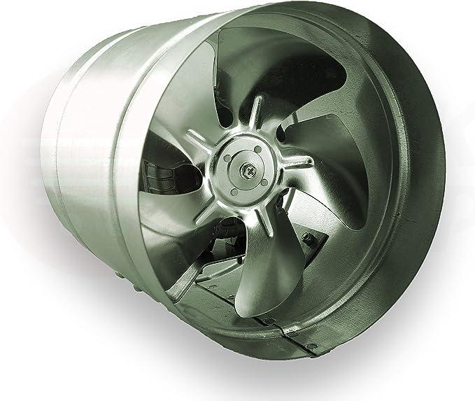 Conducto Inline 315mm Fan de Zinc de Metal Chapado en ARW la canalización Extractor Industrial: Amazon.es: Hogar