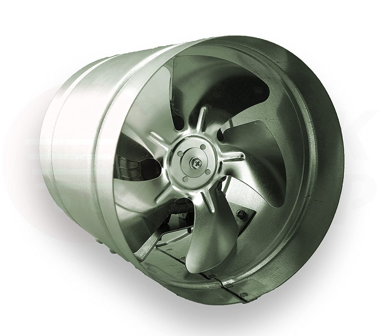 Axial Rohrventilator 315 mm 1350m³//h Hochdruck Ventilator Abluft Zuluft Gebläse