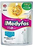 メディファス メディファススープパウチ 15歳から長寿猫用 しらす・かつお節入り 40gx12個セット