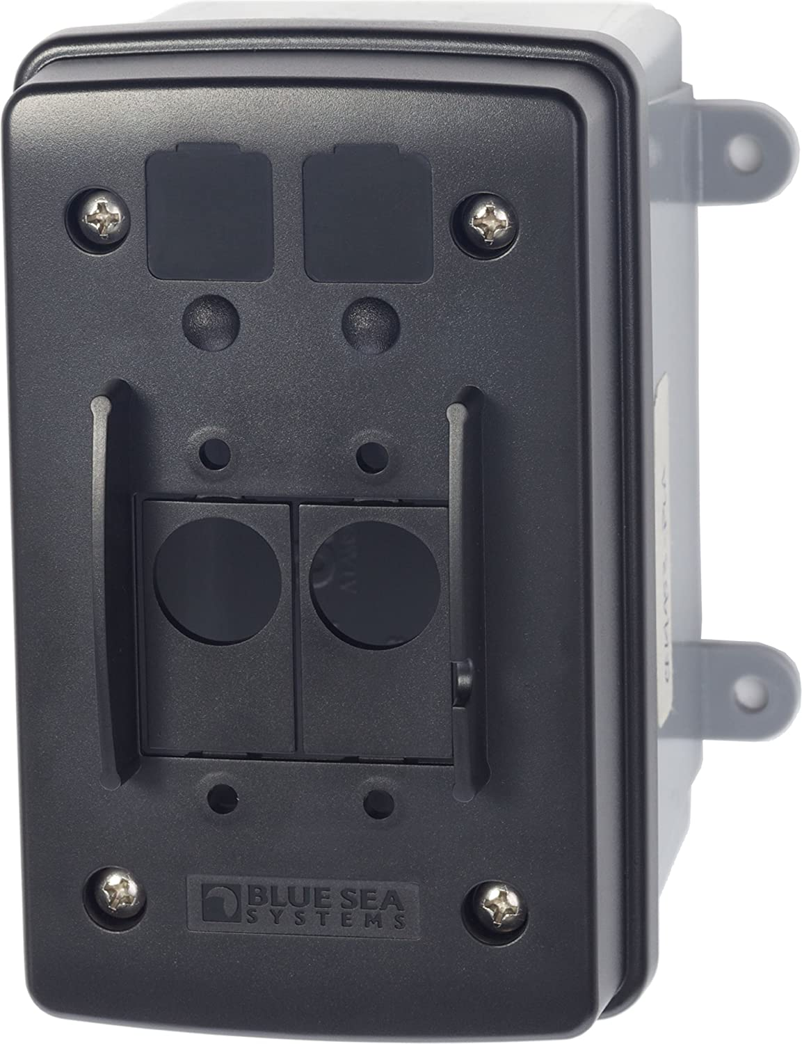 Blue Sea Systems Circuit Breaker Enclosure Boating 7237 Black Toggle 30 Amp Double Pole Aseries Electrical Equipment Sports Outdoors