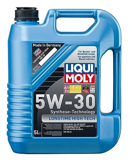 Liqui Moly 1137 Longtime High Tech Motoröl, 5W-30, 5 Liter