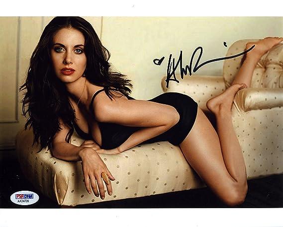 Autographs-original Alison Brie Signed Autographed 8x10 Photograph