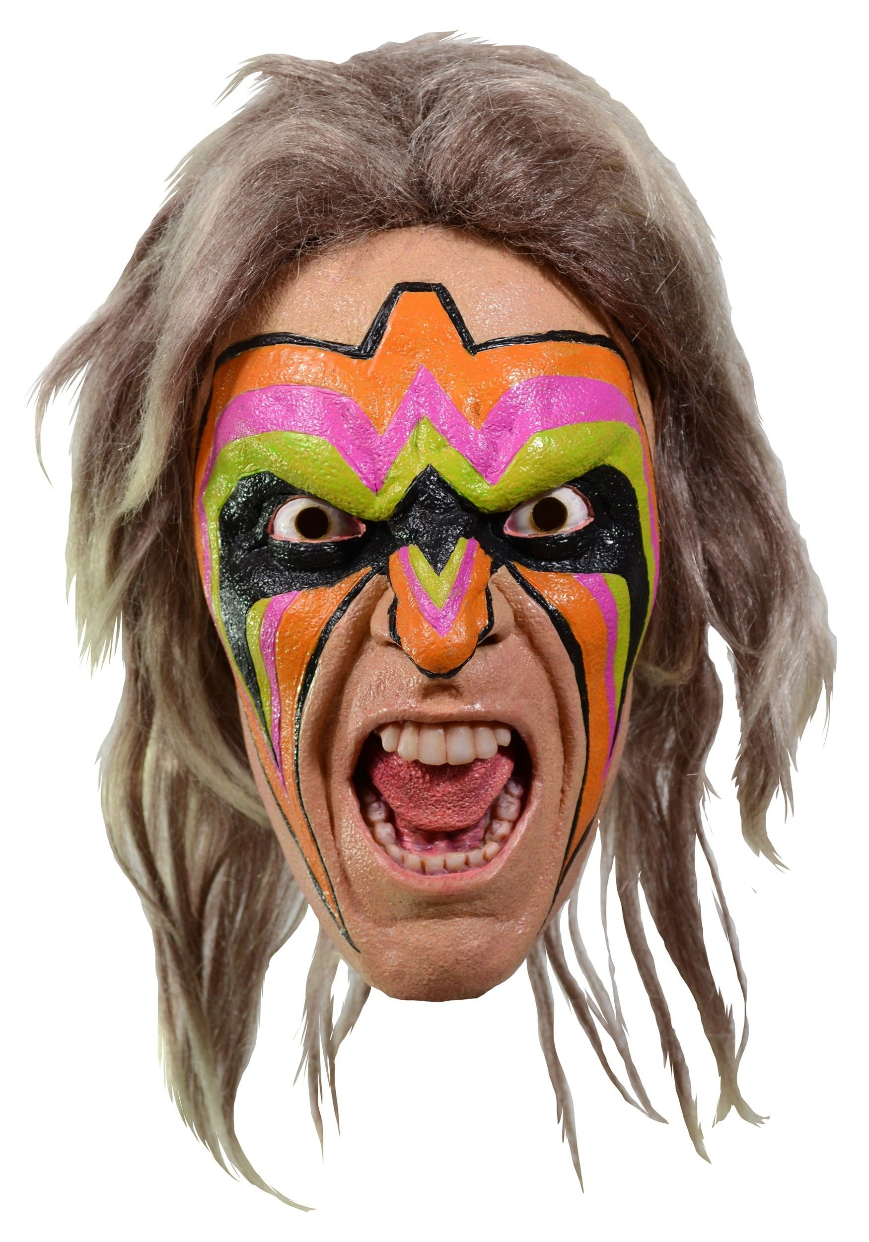 Adult WWE Ultimate Warrior Mask Standard by Trick Or Treat Studios