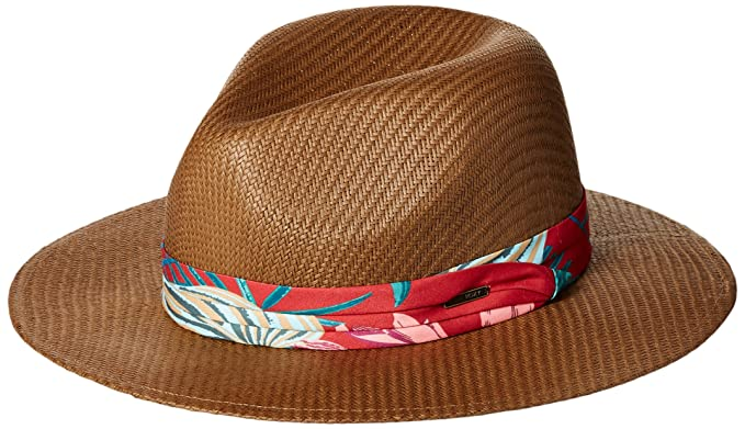 a99ee5ce251 Roxy Junior s Here We Go Straw Panama Hat at Amazon Women s Clothing ...