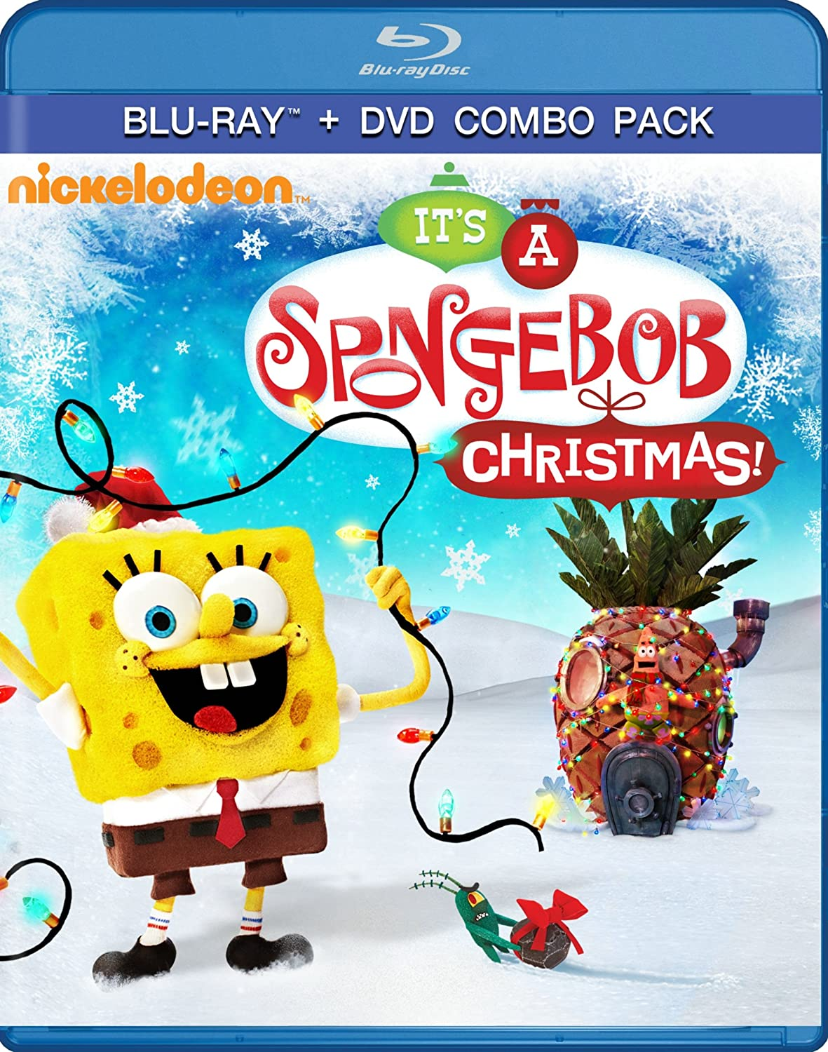 amazon com spongebob squarepants it u0027s a spongebob christmas