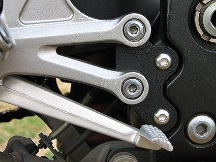 Amazon.com: Rearsets Riser Plates Kawasaki Ninja ZX10 ZX-10 ...