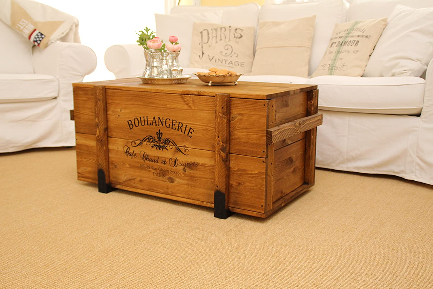 Uncle Joes Crate Shabby Chic Cargo Box Vintage Transport
