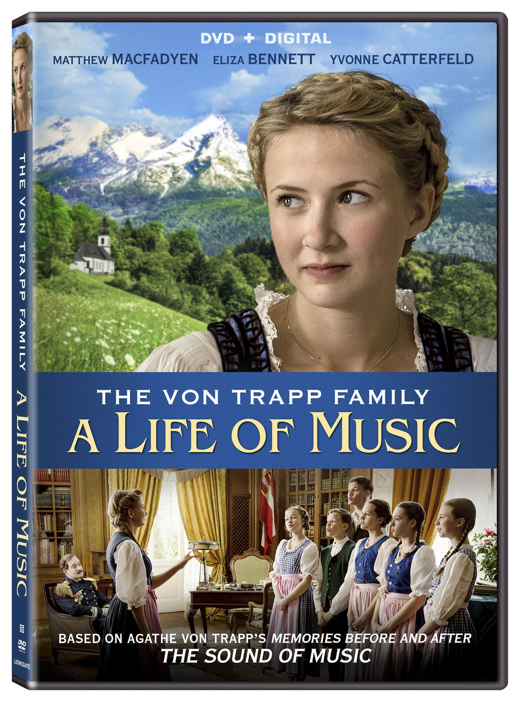 DVD : The Von Trapp Family: A Life of Music (AC-3, Dolby, Widescreen, )