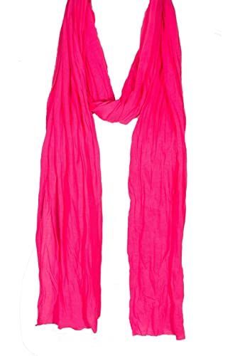 "Plain Solid Color Scarf, More Than 40 Colors, 76"" Long, 14"" Wide, Jersey Scarf, Free Style, Without Hem by Unknown"