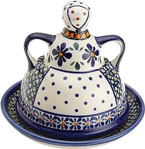 Amazon.com | Bunzlauer Polish Pottery Butter Lady, DU60