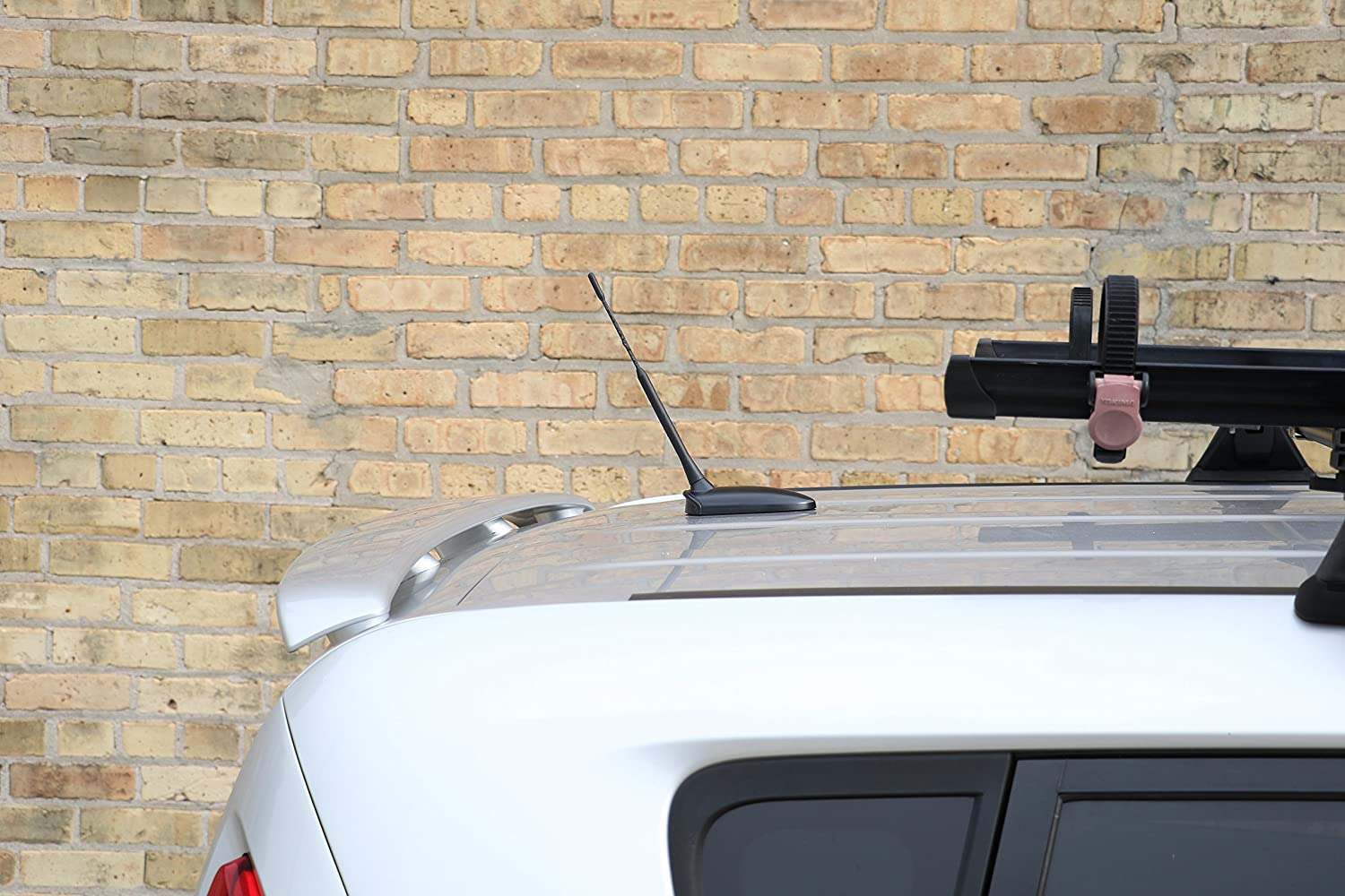 The Original 6 3//4 INCH is Compatible with GMC Canyon Reception Guaranteed AntennaMastsRus - Short Rubber Antenna 2015-2019 Internal Copper Coil A010-76 German Engineered