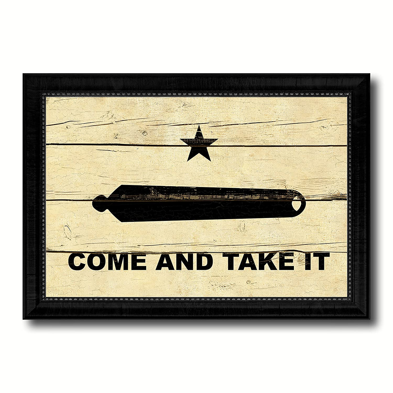 Amazon.com: Revolution Come and Take It Military Vintage Flag Black ...