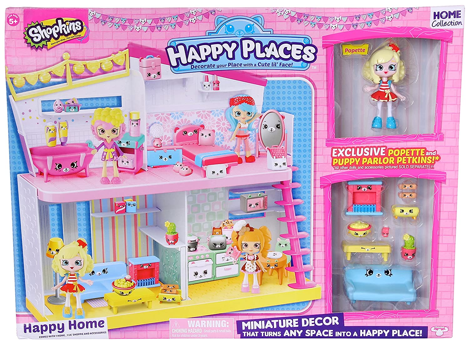 Shopkins Happy Places House Playset