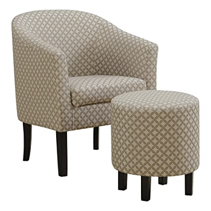 Cool Monarch Specialties I 8323 Accent Chair One Size Dark Taupe Dailytribune Chair Design For Home Dailytribuneorg