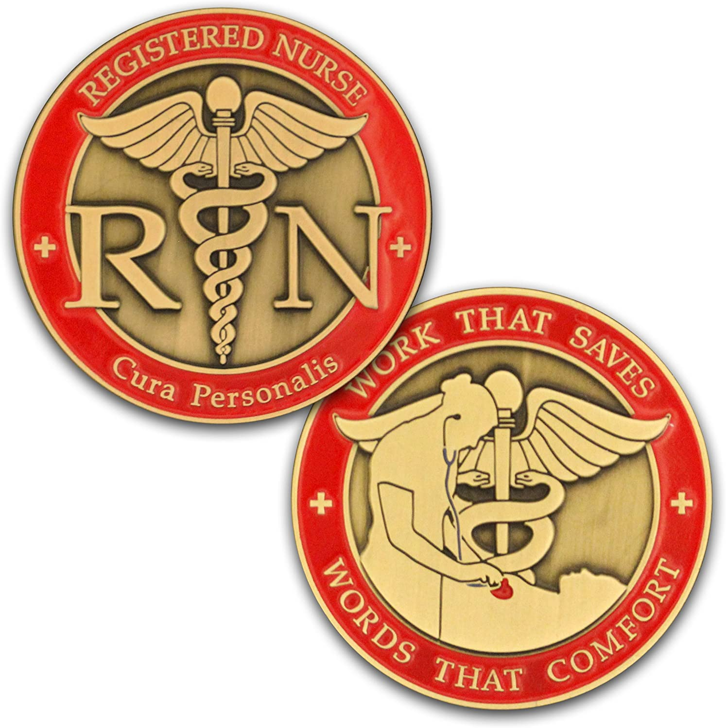 God is My Protection Challenge Coin Bulk Pack of 3 Doctors Pocket Token of Safety and Protection Gift for Soldiers Paramedics EMS First Responders Psalm 91 and Police Officers Nurses