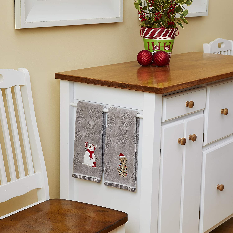 Bunny//Bear Hand Towel Set Teal SKL Home by Saturday Knight Ltd